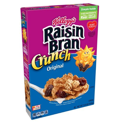 Picture of Kellogg's Raisin Bran Crunch 450g/15.9 oz