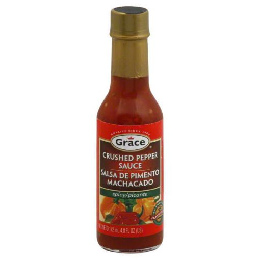 Picture of Grace Crushed Pepper Sauce 142 ml/4.8 fl oz