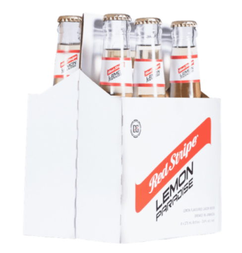 Picture of Red Stripe Beer Lemon Paradise (Pack of 6 x 275ml)