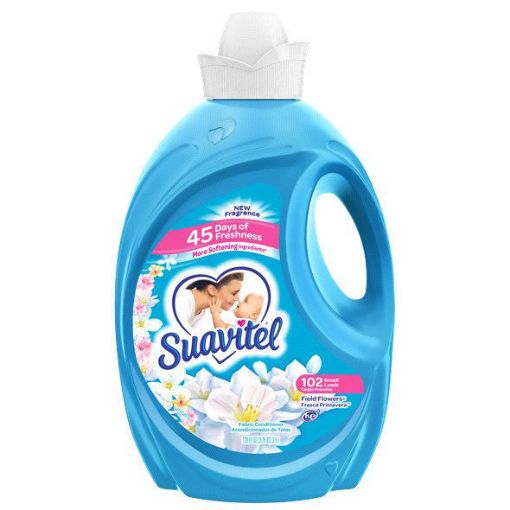Picture of Suavitel Fresca Primavera (Field of Flowers) Softener 3.5L/120 fl oz