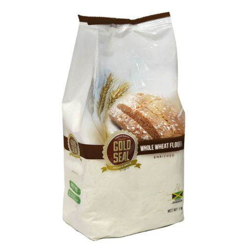 Picture of Gold Seal Whole Wheat Flour per 1 kg/2.2 lbs bag