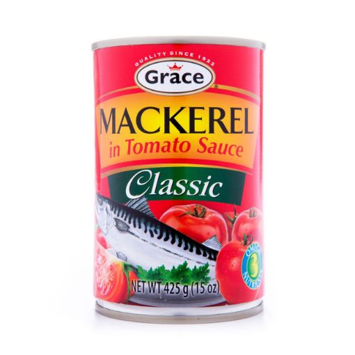 Picture of Grace Jack mackerel in Tomato Sauce 425g - (3 Pack)