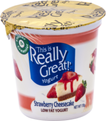 Picture of This is Really Great Yogurt Strawberry Cheesecake (170 g/5.99 oz)