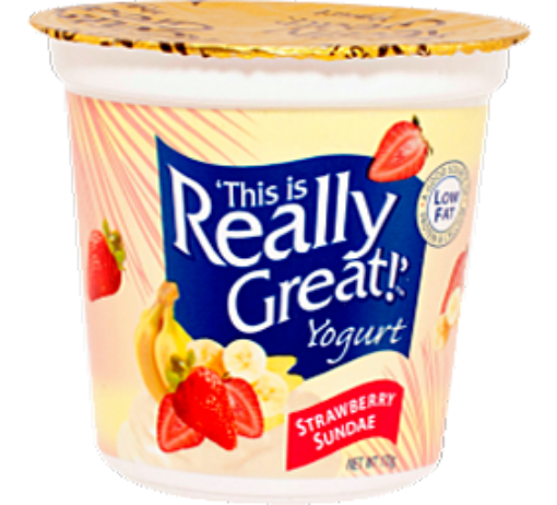 Picture of This is Really Great Yogurt Strawberry Sundae (170 g/5.99 oz)