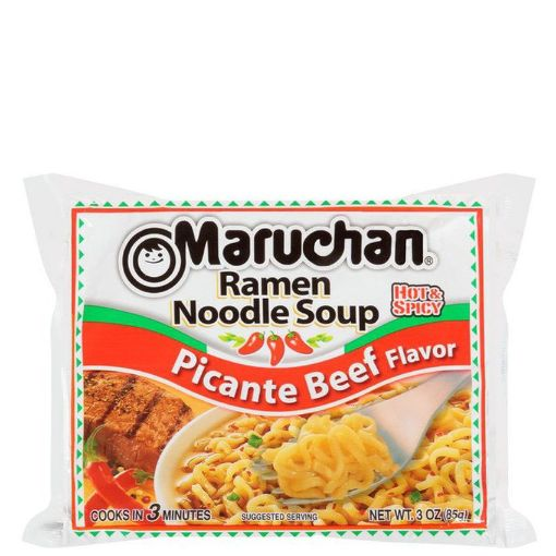 Picture of Maruchan Ramen Noodle Picante (Hot Spicy) Beef Flavor 3 oz/85g
