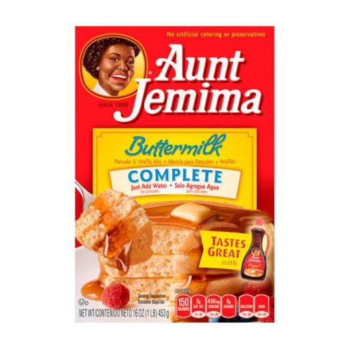 Picture of Aunt Jemima Buttermilk Complete Pancake Waffle Mix (1 lb/453 g)